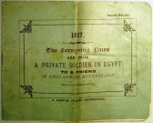The Foregoing Lines are from A Private Soldier in Egypt 1917