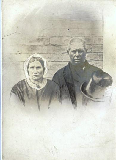 Edward Lant and wife Lydia Dobson