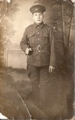 Pte Stanley Marriott of Hunts Cyclists