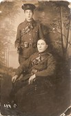 Pte. Stanley Marriott and Friend