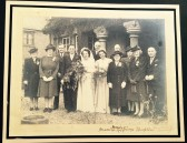 Ray and Norma Bufton's Wedding Day