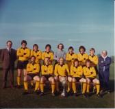 "Ramsey Town FC 1st. P'Boro Seniors Cup 1970""s"