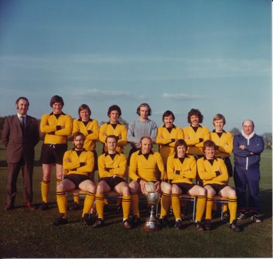 Ramsey Town FC 1st. P'Boro Seniors Cup 1970