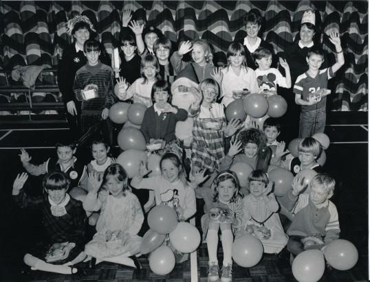 Ramsey Badgers Group (circa 1987)