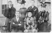Wedding of Alfred Neville Swearer and Mary Ann Denham