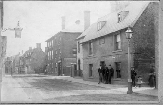 Swearer Family house High Street, Ramsey ( pre 1902)
