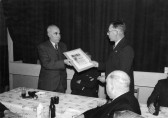 British Legion Presentation to Jack Kirby