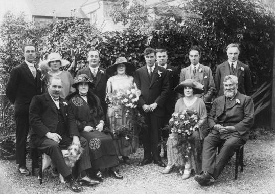 Annie (Nance) Swearer's Wedding