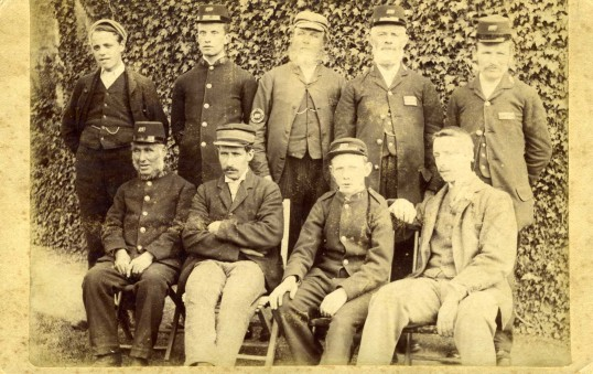 Old Ramsey Post Workers