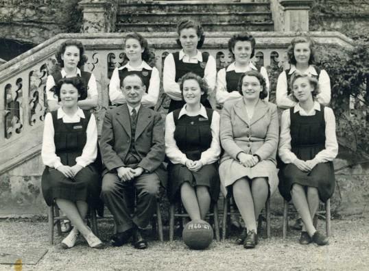 Ramesy Abbey Grammer School Netball Team 1946/47