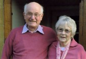 Bill and Mary Beacham (Nee Kirby) on their 62nd Wedding Anniversary