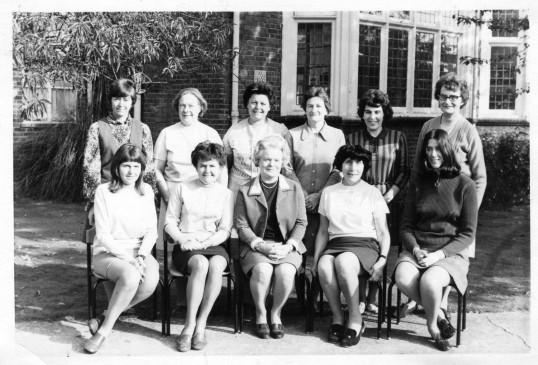 Staff at Ramsey Infant School. (1960's)