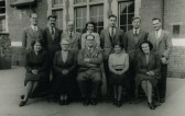 Ramsey Council School Staff and Pupils 1950