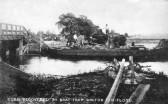 Floods at Walton Fen near Ramsey Aug 1912