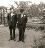 Norman and Arthur E Papworth on the occasion of Ken & Susan Papworth's Wedding