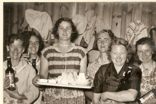 Gathering at Ramsey Mereside Village Hall (early 1950's)