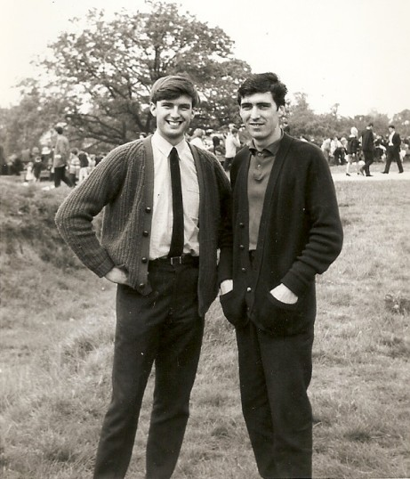 Norman Papworth and Michael Cook early 1960's