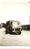 Ken Papworth with G.G.Papworth Ltd of Ramsey Mereside lorry