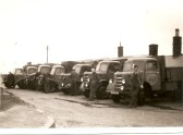 G.G.Papworth Ltd of Ramsey Mereside,Lorries and Drivers (1940/50)