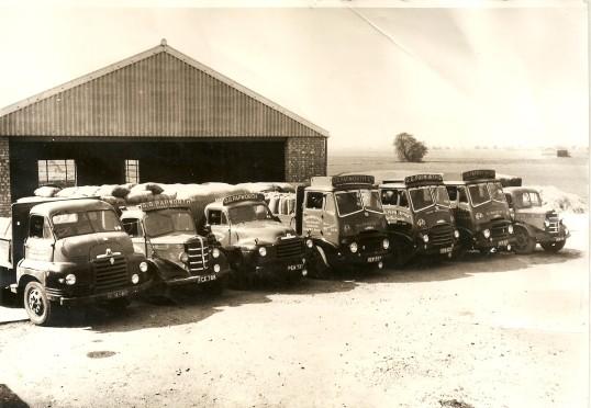 G.G.Papworth Ltd of Ramsey Mereside Yard and Lorries (1960)