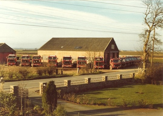 G.G.Papworth Ltd yard at Ramsey Mereside in early 1970's