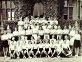 Ramsey Abbey Grammer School Sports Team 1946-1948