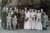 Wedding of Jean Edith Butler of 24 Newtown Road, Ramsey