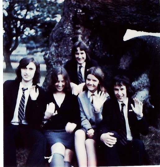 Ramsey Abbey School Sixth Form Review 1974. Blue Peter