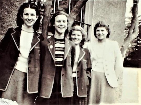 Ramsey Abbey Grammar School 1954