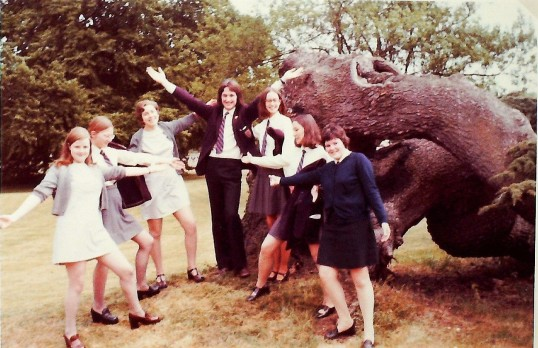 Ramsey Abbey School Sixth Form Grasp Review 1974. The Original Young Generation