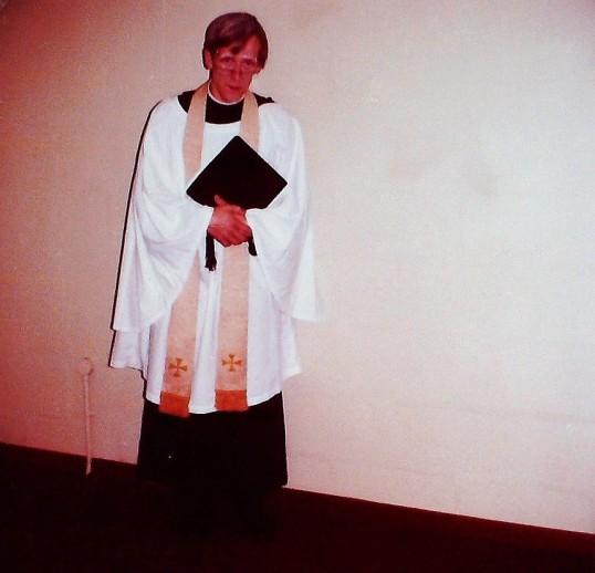 Ramsey Abbey School Grasp Review 1974. The Rev. Fredrick Eddy