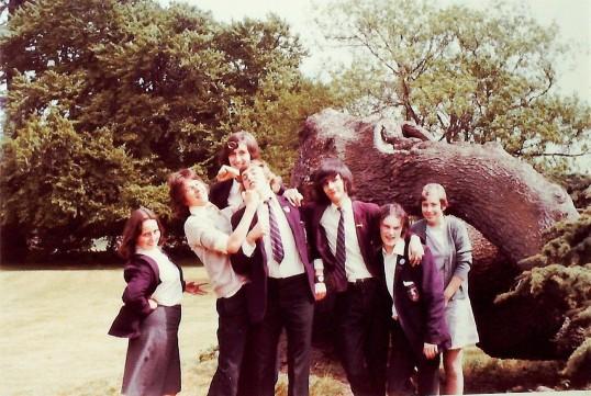 Ramsey Abbey School Sixth Form Grasp Review 1974. University Challenge.
