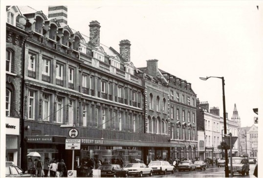 The Robert Sayle shop front