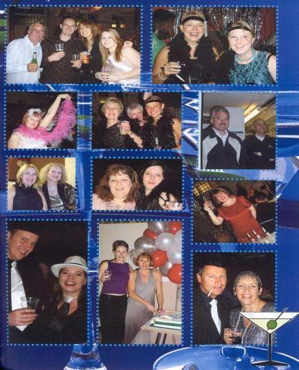 Having a ball at the Robert Sayle closing party 2004