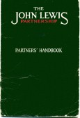 John Lewis Partnership Handbook belonging to M White at Robert Sayle