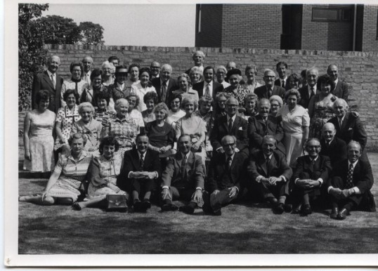 Waterloo Club/25 years service Lunch 1975