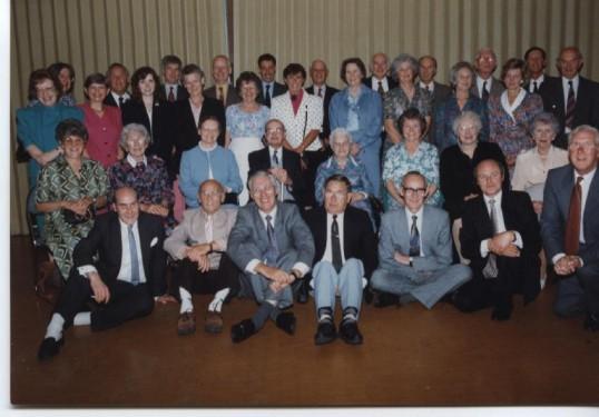 Waterloo Club/25 years service Lunch 1993