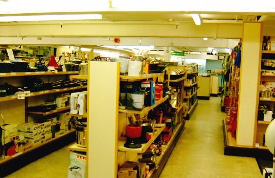 Robert Sayle Kitchenware department