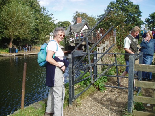 Val Thorby on the Rambling Club Visit to Flatford Mill