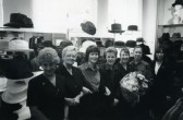 Margaret Hitch's special birthday in dept with work friends