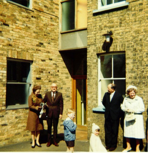 Wedding of Lorna Cousins, to Bobby Howe,  at Ely Registry Office