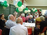 75th Anniversary Coffee Morning for Robert Sayle Pensioners.