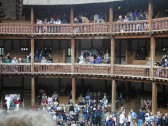 Robert Sayle outing to the Globe Theatre in London