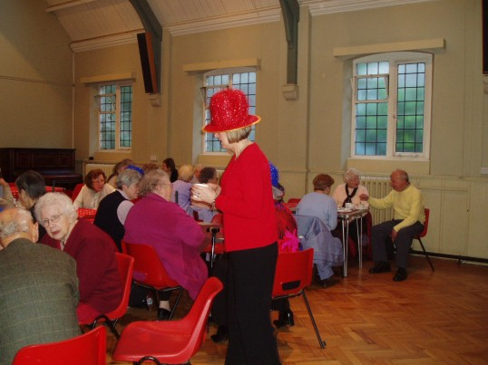 Fun at the Christmas Coffee Morning