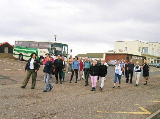Rambling Club Visit to Southwold