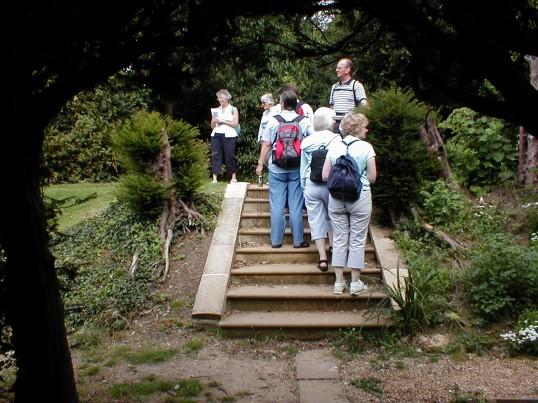 Rambling Club Visit to Bridge End Gardens, Saffron Walden