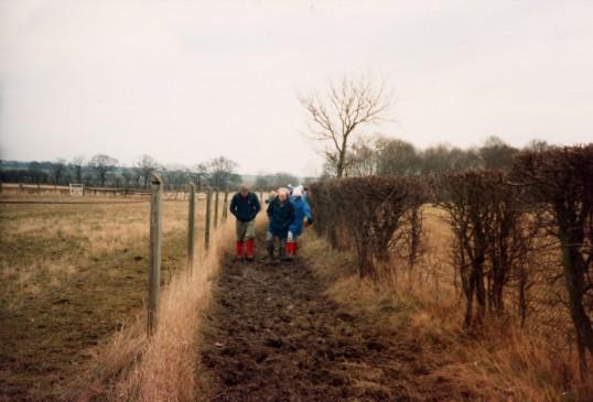 Ist walk of the Robert Sayle Rambling Club