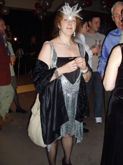 Ruth Pickerill at Robert Sayle Closing Party