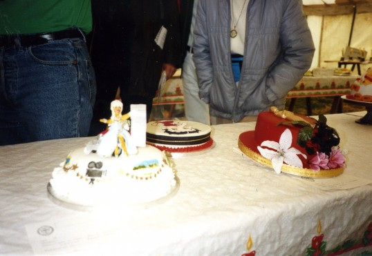 Partnership Gala Cake competition - one of the cakes made by Robert Sayle Partner Cynthia Hearnden