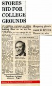Cambridge Evening News report on possible redevelopment of Robert Sayle